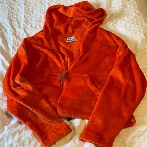 Urban outfitters cropped light hoodie